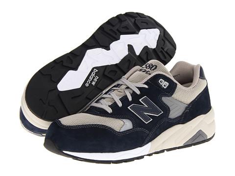 New Balance Classics - MRT580 - REVlite (Navy Suede) Men's Classic Shoes