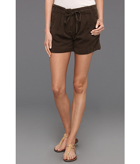 Sanctuary - Paperbag Short (Olive Green) Women