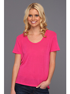 SALE! $17.1 - Save $40 on Joe`s Jeans Tuxedo Tee (Fuchsia) Apparel - 70.00% OFF $57.00
