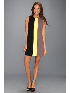SALE! $54.99 - Save $63 on Vince Camuto Tri Colorblocked Shift Dress (Yellow) Apparel - 53.40% OFF $118.00