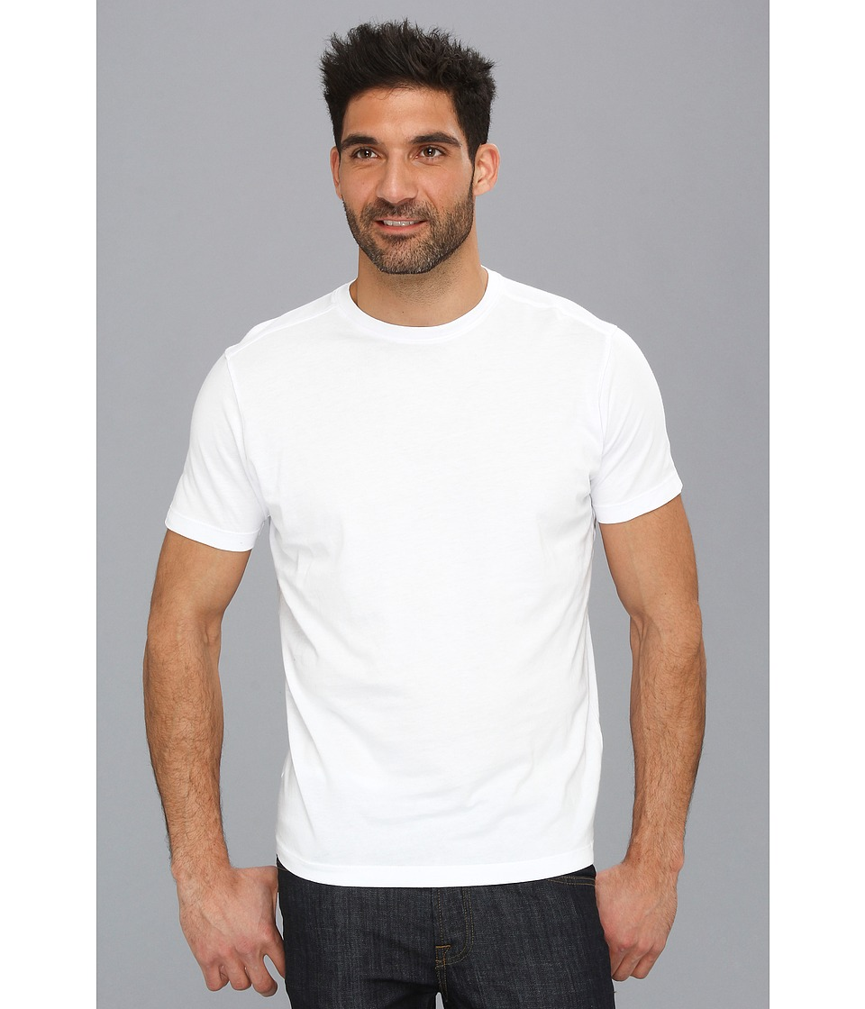 Agave Denim - 100% Supima Cotton Agave Tee (White) Men's T Shirt