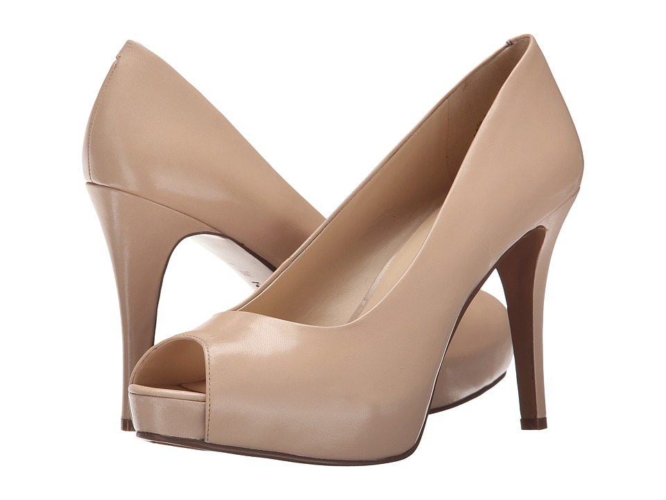 Nine West - Camya (Natural Leather 2) High Heels