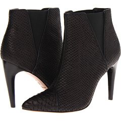 Rachel Zoe Fabian (Black Python Embossed Leather) Footwear