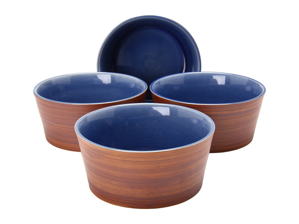 Waechtersbach - Pure Nature Cereal Bowls - Set of 4 (Blue) Dinnerware Cookware