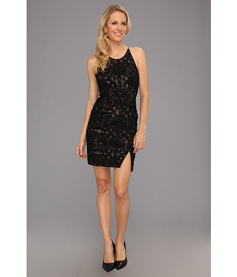 BCBGMAXAZRIA - Tenya Cocktail Dress (Black) Women