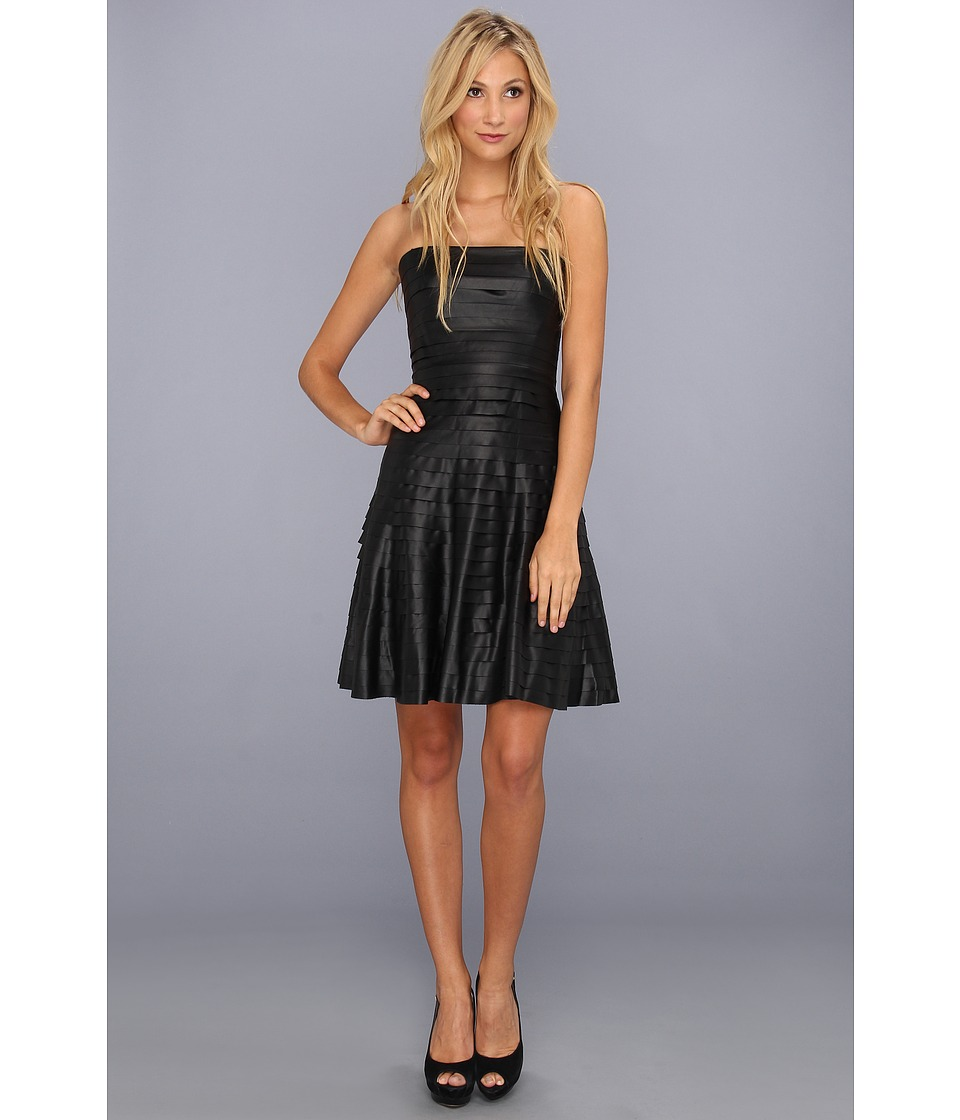 BCBGMAXAZRIA - Harley Strapless Dress (Black) Women's Dress