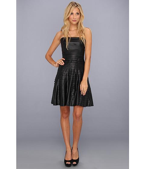 BCBGMAXAZRIA - Harley Strapless Dress (Black) Women's Dress