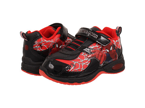Favorite Characters - Ultimate Spiderman 1SPF903 Shoe (Toddler/Little Kid) (Red/Black) Boys Shoes
