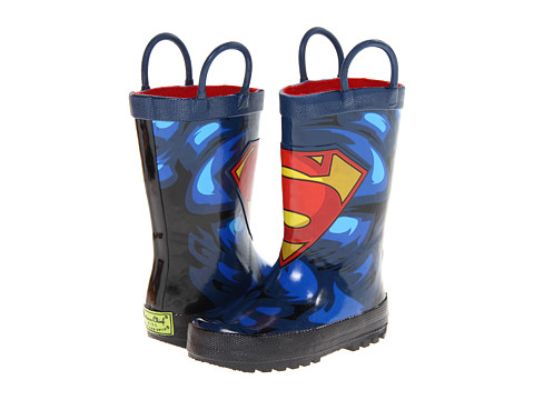 Western Chief Kids - Superman Forever Rainboot (Toddler/Little Kid/Big Kid) (Blue) Boys Shoes