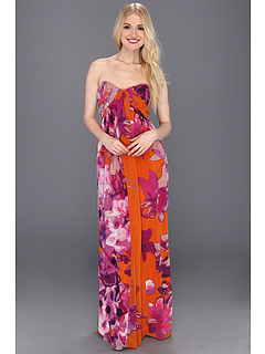 SALE! $99.99 - Save $78 on Jessica Simpson Sweetheart Drape Maxi Dress (Bleeding Heart Exuberance) Apparel - 43.83% OFF $178.00