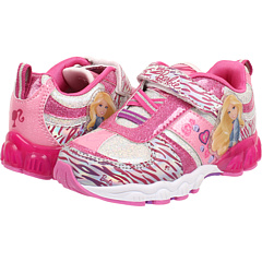 SALE! $16.99 - Save $11 on Favorite Characters Barbie 1BBF307 Lighted Shoe (Toddler Little Kid) (White Pink Purple) Footwear - 39.32% OFF $28.00