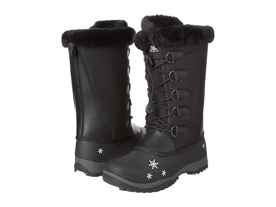 Baffin Kids - Shari (Little Kid/Big Kid) (Black) Girls Shoes