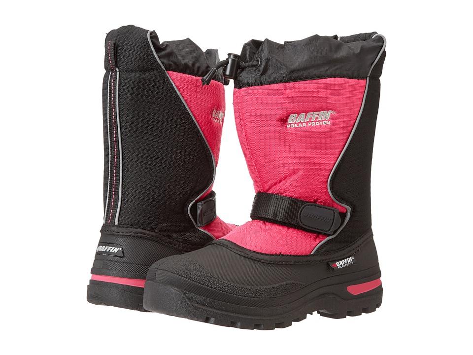 Baffin Kids - Mustang (Little Kid/Big Kid) (Black/Hyper Berry) Girls Shoes
