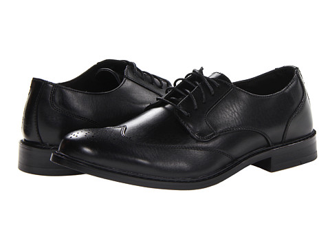 Deer Stags - Providence (Black) Men's Lace Up Wing Tip Shoes