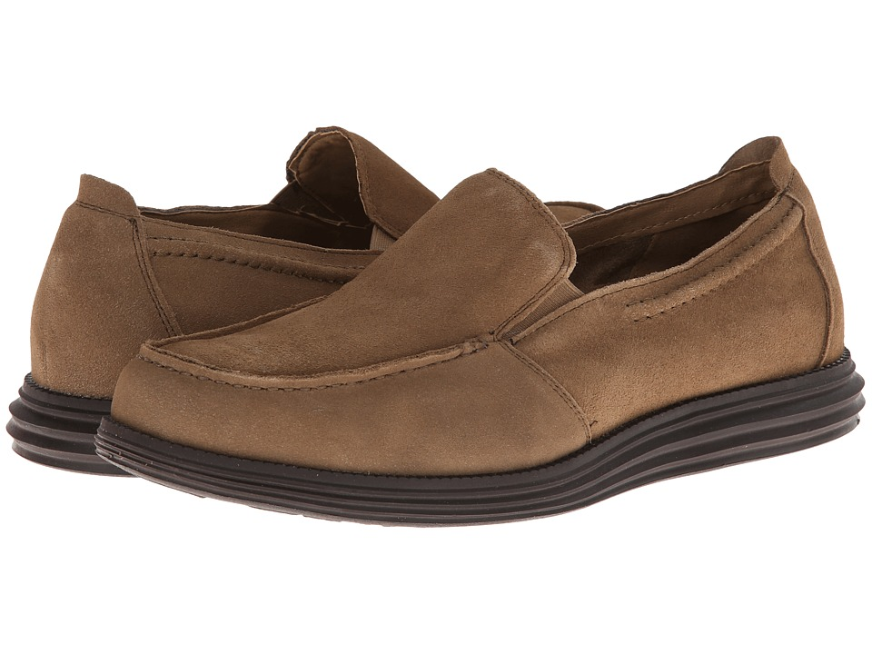 Deer Stags Andrew Mens Slip on Shoes (Taupe)