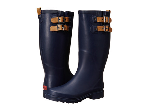 Chooka - Top Solid (Navy) Women's Rain Boots