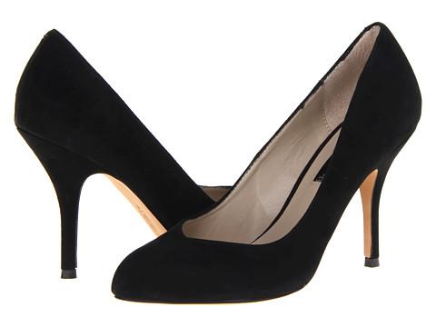 Steven - Delicat (Black Suede) High Heels