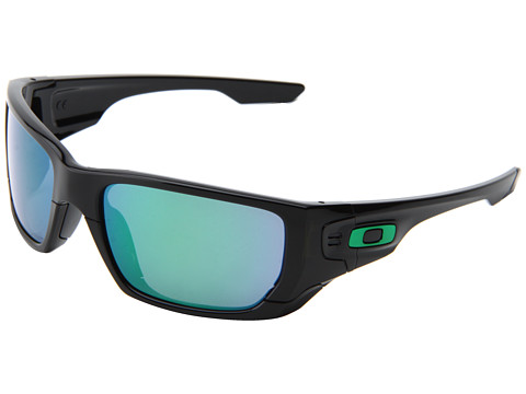 Oakley - Style Switch (Polished Black/Jade Iridium/Grey) Plastic Frame Sport Sunglasses