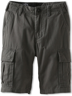 SALE! $14.99 - Save $25 on Volcom Kids Slargo Cargo Short (Big Kids) (Charcoal) Apparel - 62.05% OFF $39.50