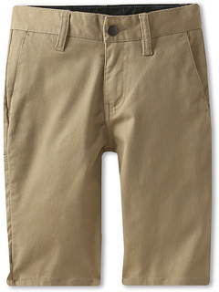 SALE! $14.99 - Save $30 on Volcom Kids Frickin Modern Stretch Short (Big Kids) (Khaki) Apparel - 66.69% OFF $45.00