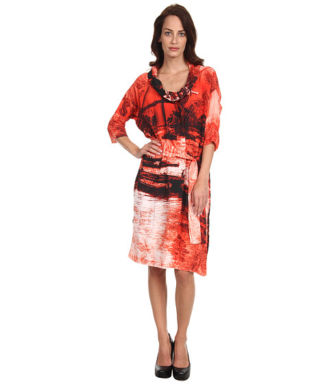 Vivienne Westwood Anglomania - Wuupa Dress (Red Multi) Women's Dress