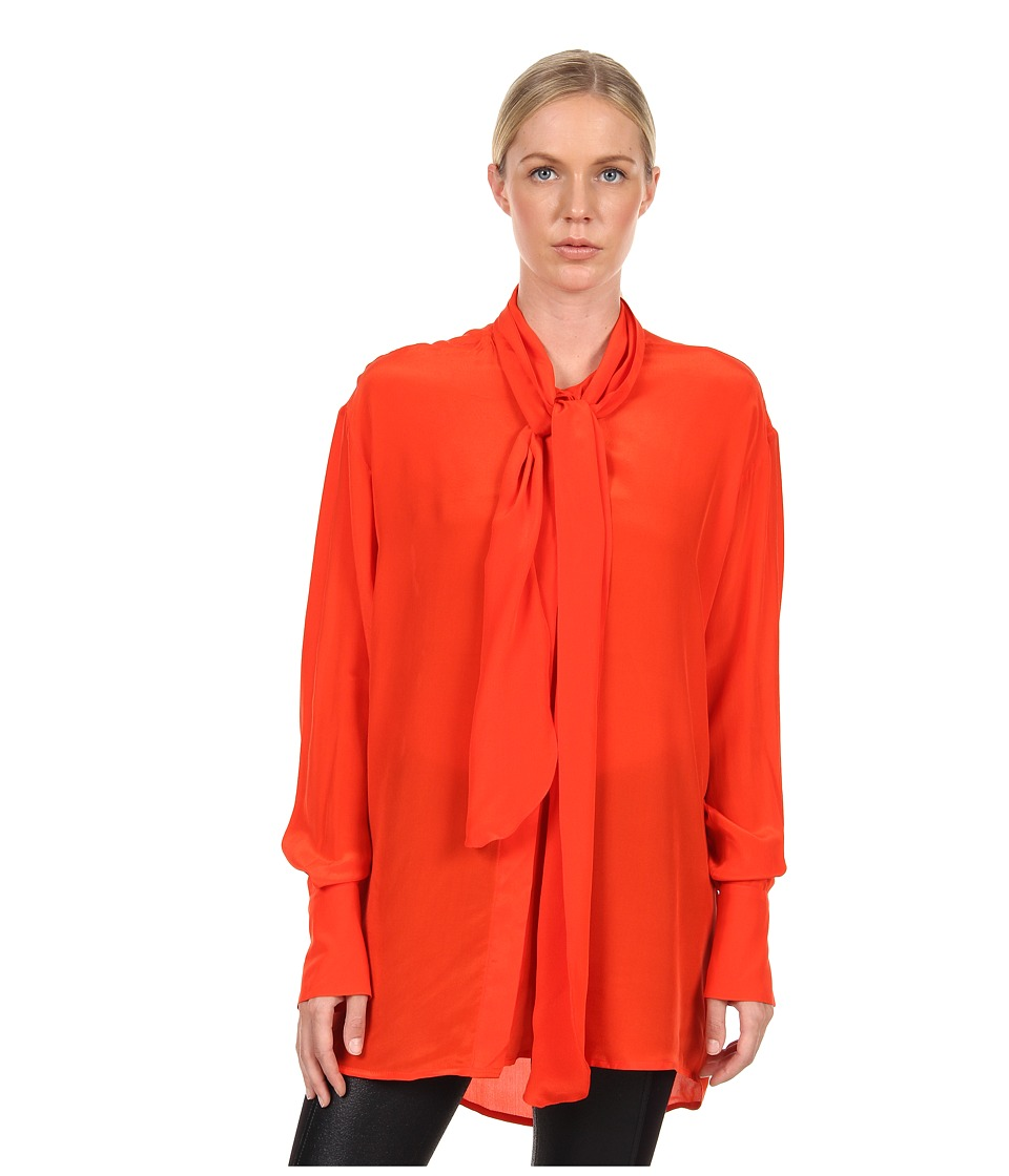 Vivienne Westwood Anglomania - Ecstasy Blouse (Tangerine) Women's Blouse
