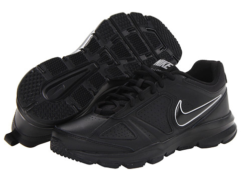 Nike - T-Lite XI (Black/Black/Metallic Silver) Men
