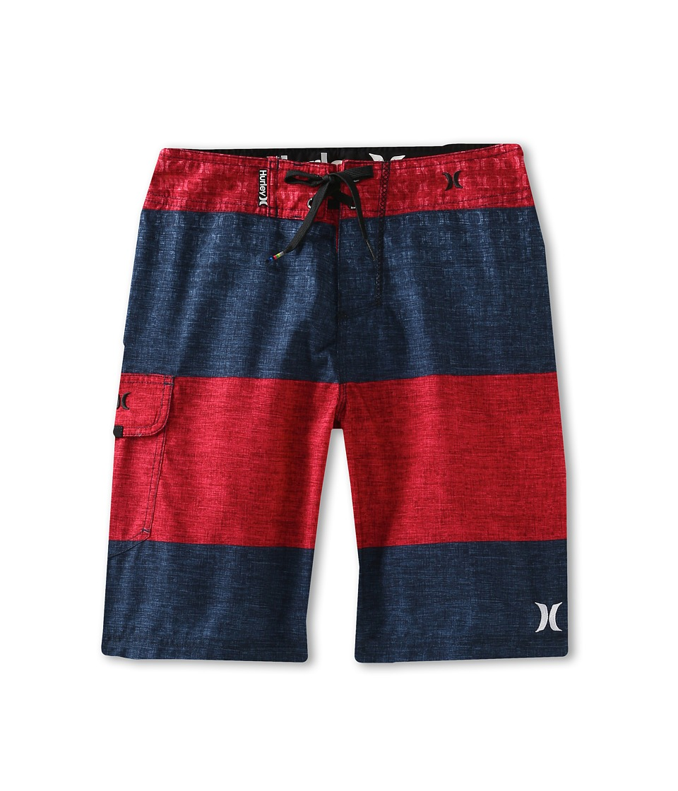 Hurley Kids Ion Boardshort Boys Swimwear (Navy)