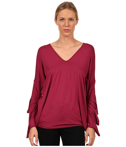 Vivienne Westwood Anglomania - Three Witches Top (Plum) Women