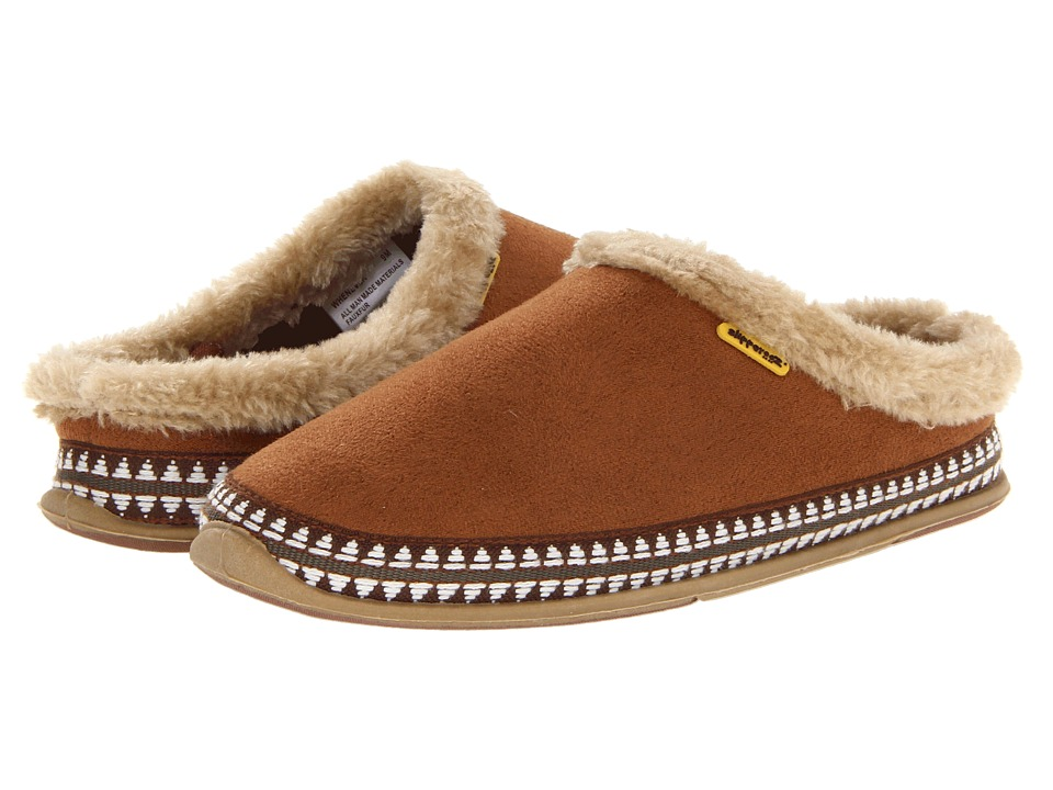 Deer Stags Whenever Womens Slippers (Brown)