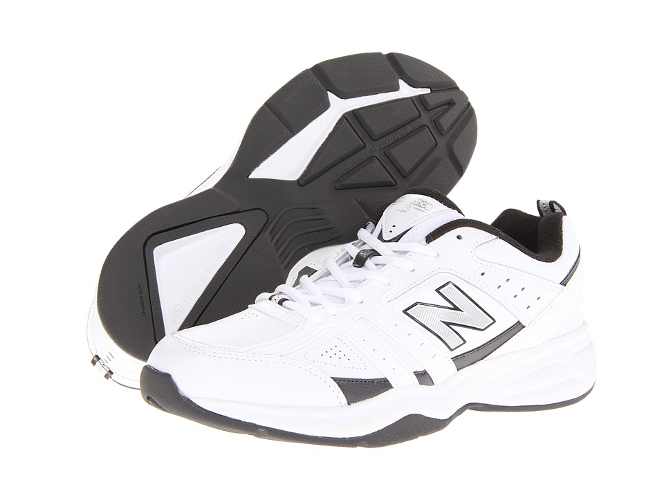 New Balance - MX409 (White/Grey) Men's Shoes
