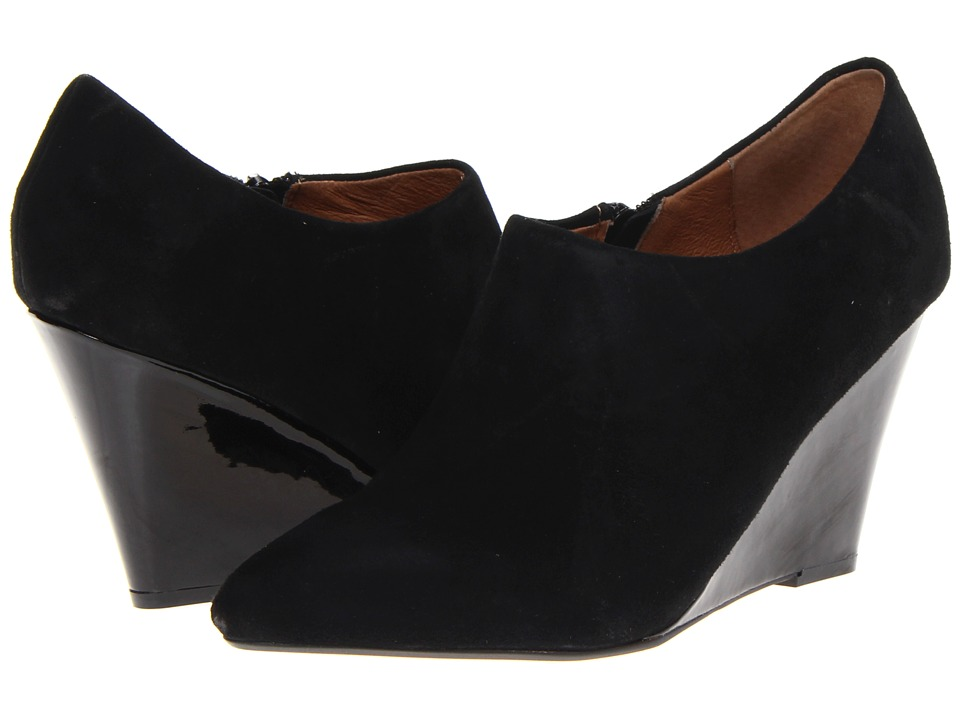 Corso Como - Model (Black Suede) Women's Wedge Shoes