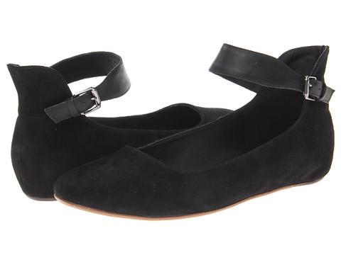 Kooba Kaylee (Black Suede/Leather) Women's Shoes
