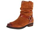 Corso Como Seaton (Luggage Suede) Women's Zip Boots