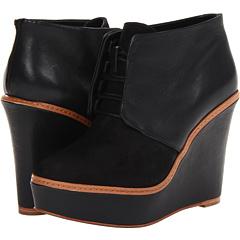 Kooba Nora (Black Nubuck Leather) Footwear