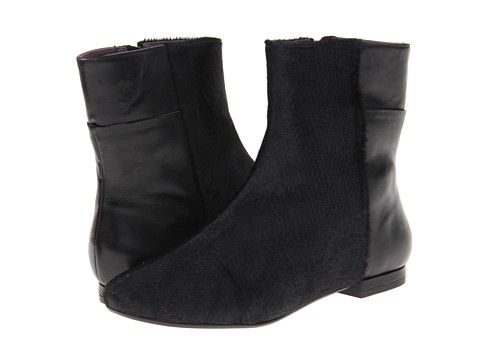 Kooba - Genevieve (Black Leather/Pony Hair) Women's Boots