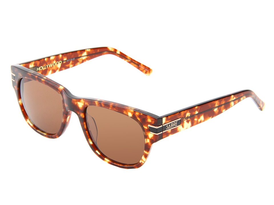 Sabre Vision - Hollywood (Tortoise) Plastic Frame Sport Sunglasses