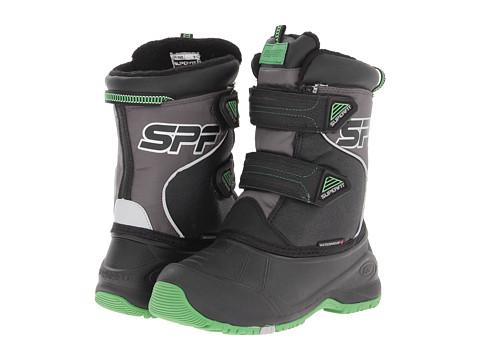 Superfit - Kizzi (Toddler/Little Kid/Big Kid) (Black/Dark Charcoal/Md Cactus) Boys Shoes