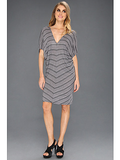 SALE! $34.99 - Save $80 on Three Dots Double V Dress (Black) Apparel - 69.57% OFF $115.00