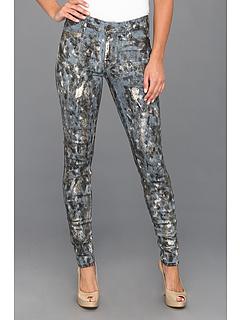 SALE! $46.99 - Save $141 on CJ by Cookie Johnson Joy Legging in Slate Spotted Foil (Slate Spotted Foil) Apparel - 75.01% OFF $188.00