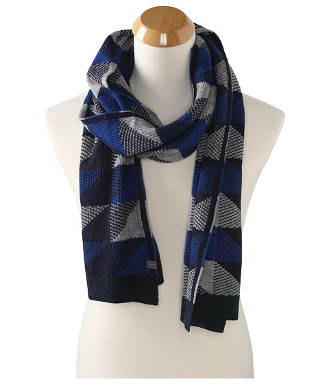 Echo Design - Geo Muffler (Deep Blue) Scarves