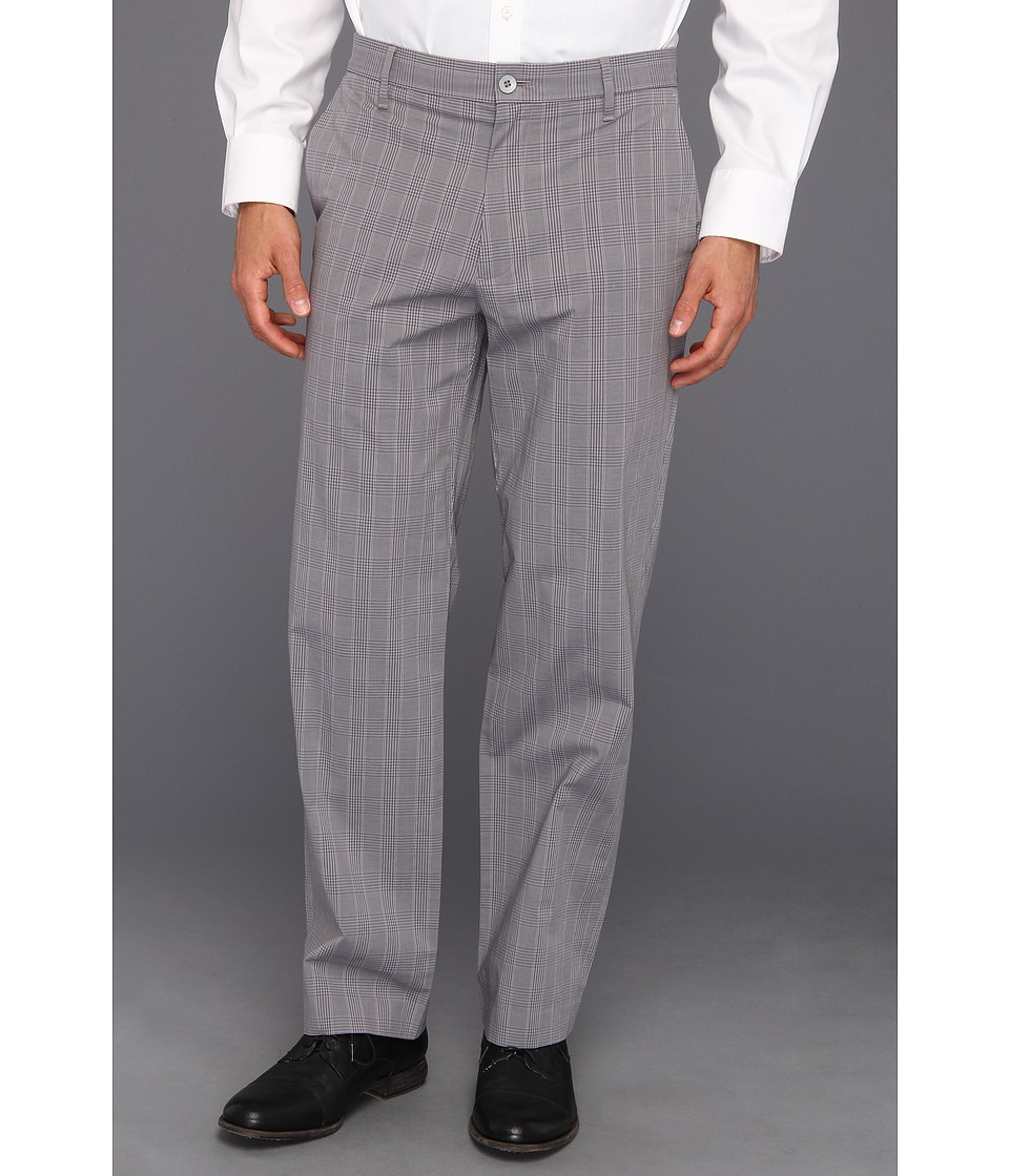 Dockers - Signature Straight D2 Straight Fit Flat Front Pant (Castor Grey) Men's Dress Pants