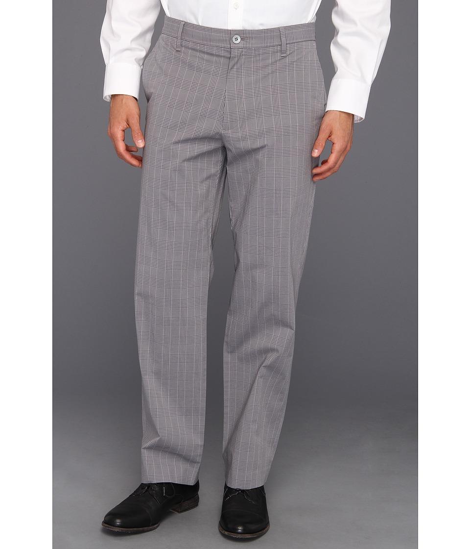 Dockers - Signature Straight D2 Straight Fit Flat Front Pant (Castor Grey) Men's Dress Pants