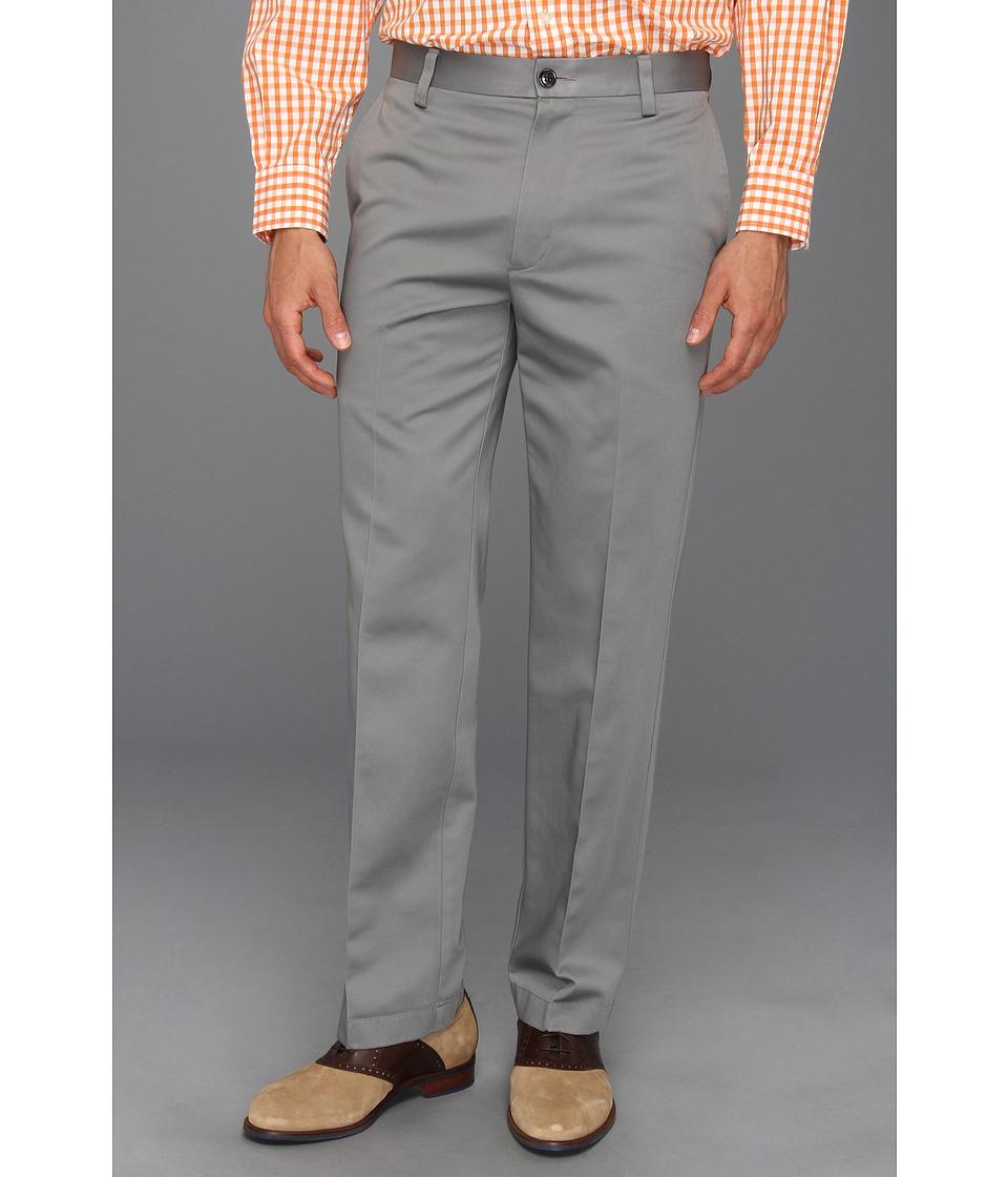 Dockers - Never-Irontm Essential Khaki D2 Straight Fit Flat Front (Sea Cliff) Men's Casual Pants