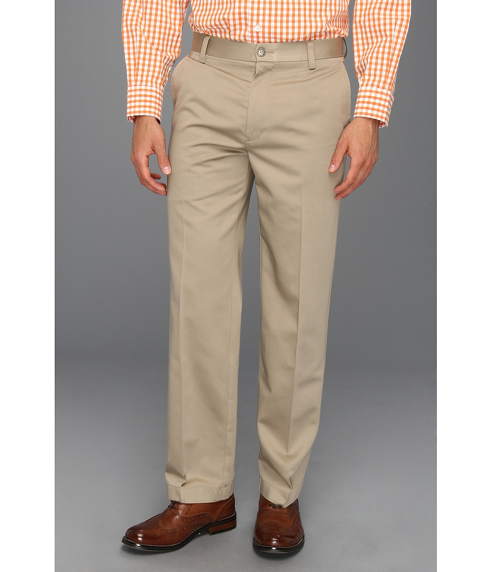 Dockers - Never-Irontm Essential Khaki D2 Straight Fit Flat Front (Sea Cliff) Men's Casual Pants