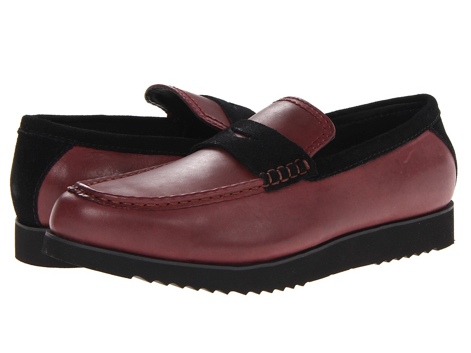 BUGATCHI - Haring (Burgandy) Men's Shoes