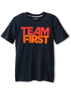 SALE! $9.99 - Save $8 on adidas Kids Team First S S Tee (Little Kids Big Kids) (Collegiate Navy) Apparel - 44.50% OFF $18.00