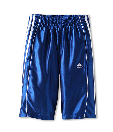 adidas Kids - Youth Basic 3-Stripe Short (Little Kids/Big Kids) (Collegiate Royal) Boy's Shorts