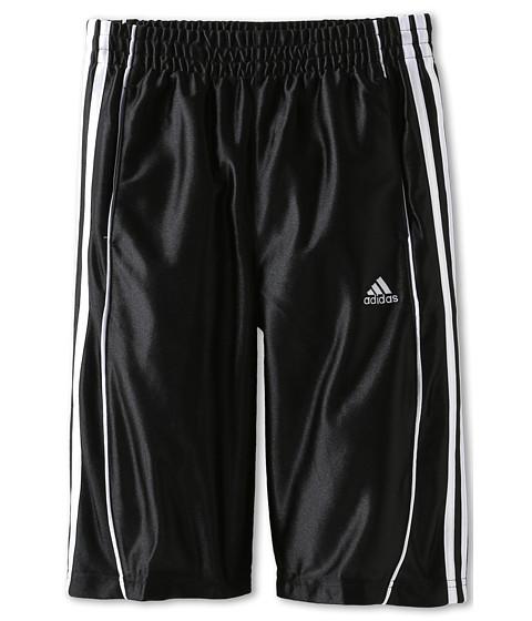 adidas Kids - Youth Basic 3-Stripe Short (Little Kids/Big Kids) (Black) Boy