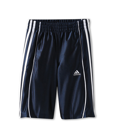 adidas Kids - Youth Basic 3-Stripe Short (Little Kids/Big Kids) (Collegiate Navy) Boy
